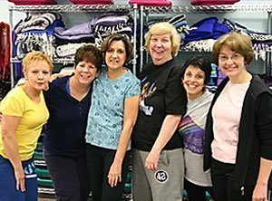 ~Kathy Hughes, Story of Hope ~ From left to right: Charlene Zeckowski, Kathy Hughes, Theresa Fraley, Amy Gyory, Kathy Callaghan and Lynn Hardisky
